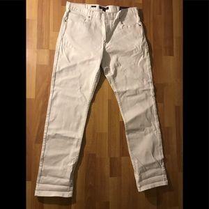 Michael Kors Slim Fit White Jeans